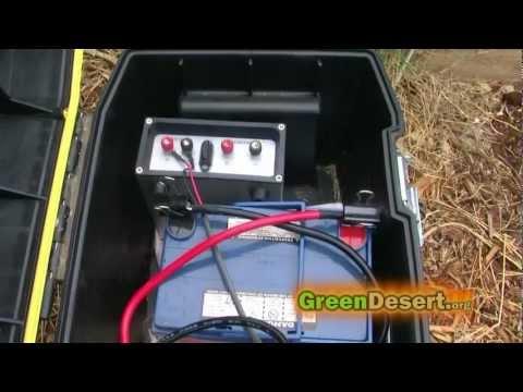 DIY Simple Solar generator