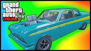 "GTA 5: BEST Drag Racing Car! - GTA V ""Vapid Blade"" Customization Guide (GTA 5 Gameplay)"