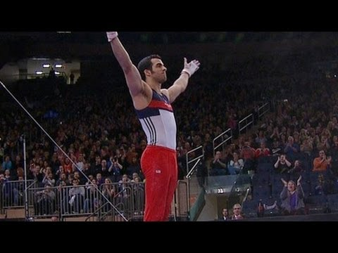 Danell Leyva wins 2012 American Cup - from Universal Sports