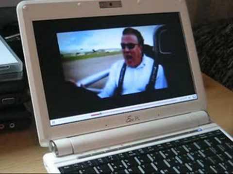 Asus Eee PC 901 video testing
