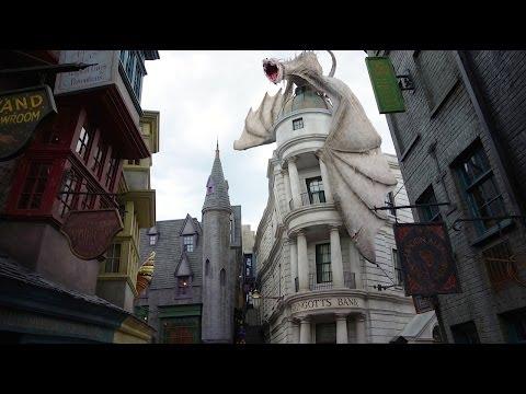 Diagon Alley Tour - The Wizarding World of Harry Potter - Universal Studios Florida