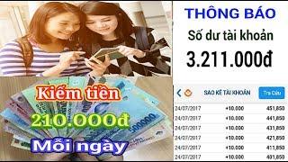 Bí mật kiếm tiền 210.000đ mỗi ngày | Ví Việt kiếm tiền online nhanh nhất
