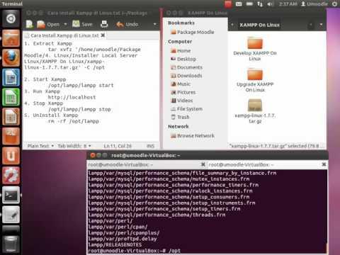 Tutorial Install Xampp On Linux  Ubuntu 11.10 (Oneiric Ocelot)