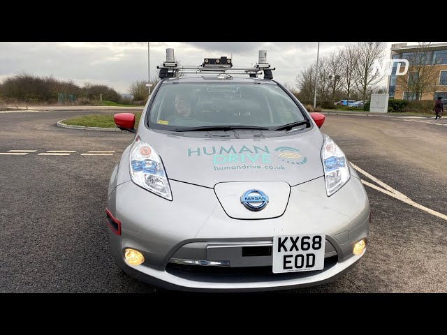 Беспилотный Nissan автономно проехал по Великобритании 370 километров