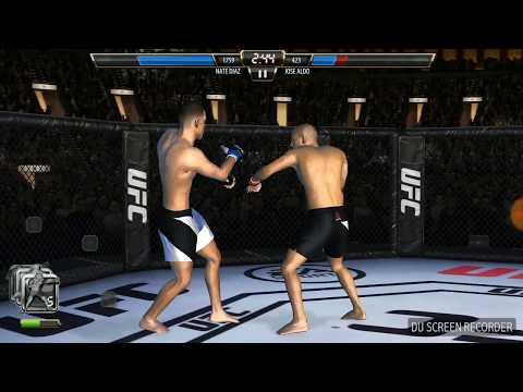 UFC Nate Diaz Vs Jose Aldo