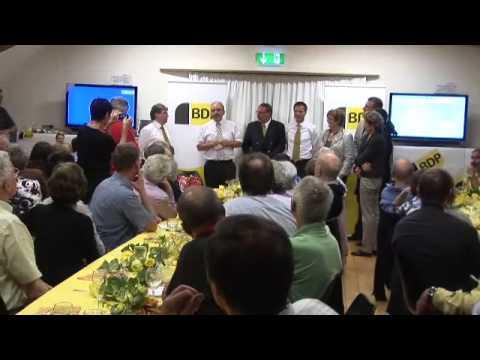 BDP Videonews zum Wahlerfolg der BDP Zürich und zum Atomausstieg.