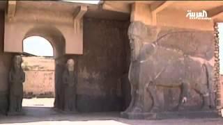 مقاتلو داعش ينهبون مدينة نمرود الأثرية