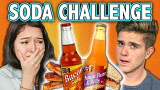 SODA CHALLENGE! (ft. React Cast) | Challenge Chalice