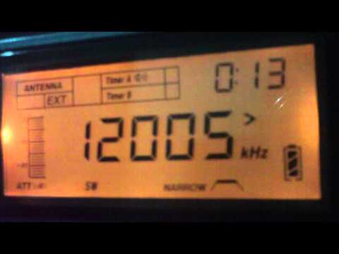 12005 kHz Radio Cairo , Cairo / Egypt - Shortwave Radio -