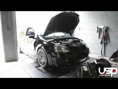 APR Stage 3 Turbo on the Dyno - VW GTI 2.0T FSI   USP Motorsports