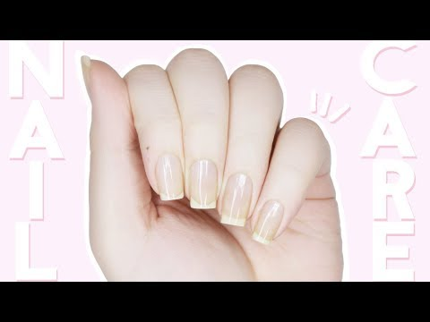 HOW I GROW MY NAILS LONG & FAST   NAIL CARE ROUTINE