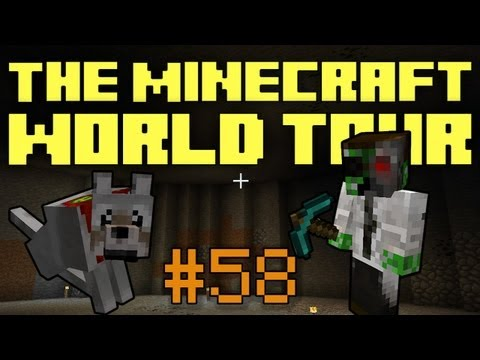 The Minecraft World Tour - #58: BUILD YOUR HOUSE!