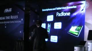 Asus Padfone at Computex 2011