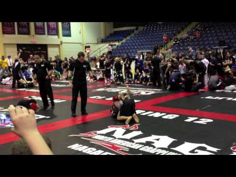 Jean=Paul Lebosnoyani No Gi Final NAGA World Championships New Jersey