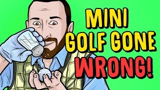 MINI GOLF GETS WEIRD - Golf It Funny Gameplay Moments