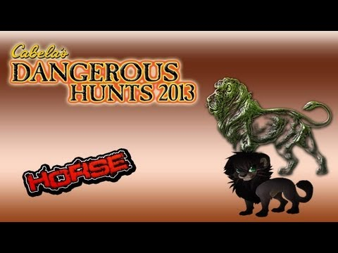 #5 cabela\'s dangerous hunts 2013 bora atras do black lion :D