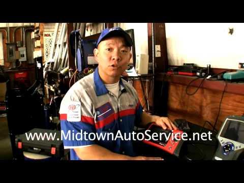 Midtown Auto Service - Houston Auto Repair - Car Diagnostic Explained