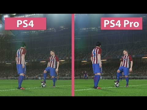 4K UHD | PES 2017 – PS4 vs. PS4 Pro 4K Graphics Comparison