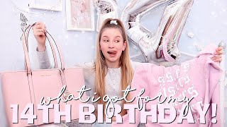 WHAT I GOT FOR MY 14TH BIRTHDAY 🤩 | Coco's World