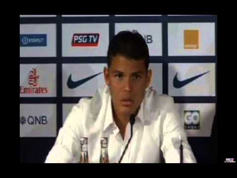 THIAGO SILVA (PSG) FULL PRESS CONFERENCE !