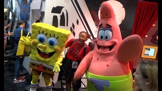 SDCC 2017 - Nickelodeon booth tour at San Diego Comic-Con - Spongebob, Hey Arnold, and more!