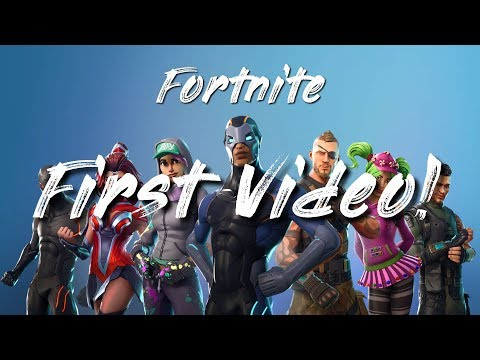 First Fortnite Video Just a quick game of Fortnite (No Cuts)