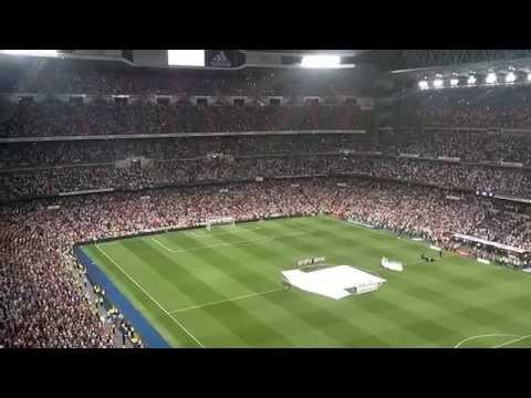 Homenaje Di Stefano Real Madrid-Atlético Supercopa 2014