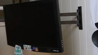 How to Mount TV or LCD to Wall!