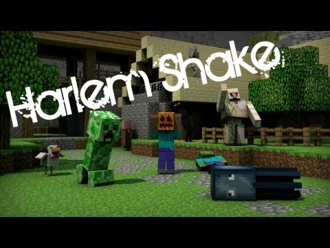 Harlem Shake (Minecraft Edition) - 3D Minecraft Animation