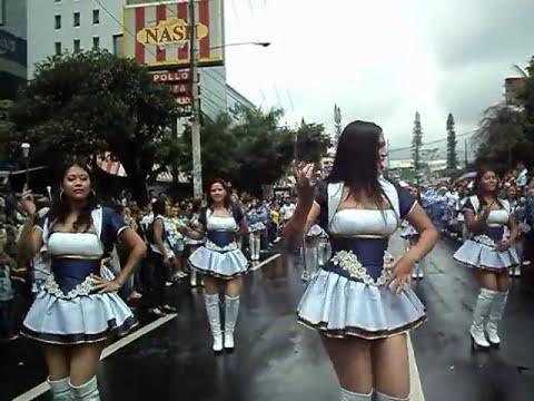 Desfile del correo en las Fiestas Agostinas de San Salvador 2011. Parte 4.