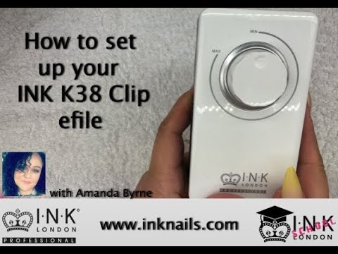 How to set up your INK London K38 Clip efile