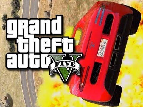 GTA 5 Online Stunts - Epic Ramps That Aren