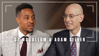 C.J. McCollum and Adam Silver on the State of the NBA in 2018 | The Players' Tribune