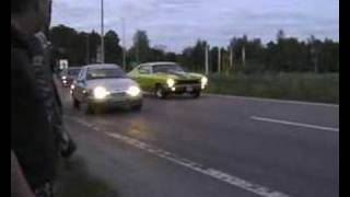Streetrace: Chevelle 454 VS Ford Sierra turbo