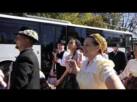 Zengővárkony - 2019.10.12. - Lukács Nap - Bazsarózsa Néptánc Együttes fellépése Érsekcsanádról