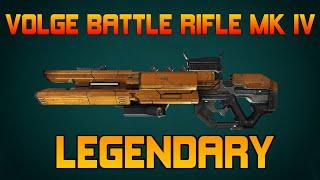 [DEFIANCE - MMO ONLINE] - Volge Battle Rifle MK IV - LEGENDARY!!!