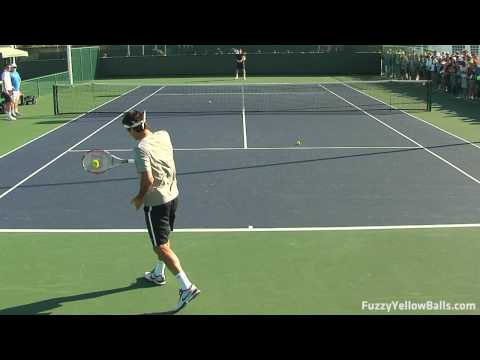 Roger Federer Backhands in HD