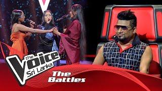 The Battles : Ashka Kulathunga V Woshika V Udani Nissanka  Lagin Mage The Voice Sri Lanka