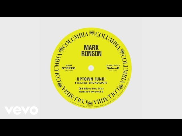 Mark Ronson - Uptown Funk (BB Disco Dub Mix) [Audio]