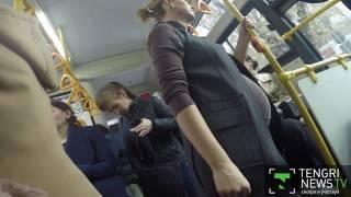 Секс в общественном транспорте в час пик онлайн