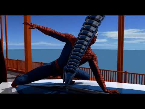 Spider-Man 3D Animation