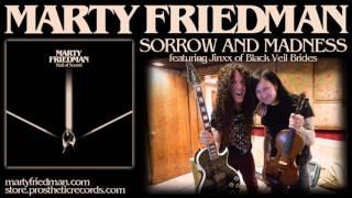 MARTY FRIEDMAN and Jinxx (BLACK VEIL BRIDES) - Sorrow and Madness (audio)