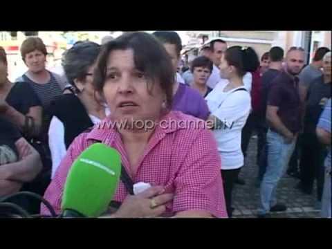 Aksioni ndaj informalitetit, protestë e tregtarëve në Kavajë - Top Channel Albania - News - Lajme