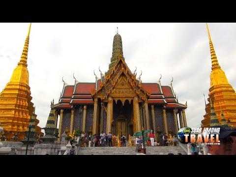SUAB HMONG TRAVEL:  A quick tour at Wat Pra Kaew in Bangkok, Thailand