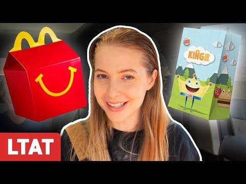 McDonald's vs. Burger King Kids Meal Taste Test