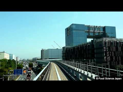 Yurikamome Line In 07 Aomi to Telecom Center 2011.05.19