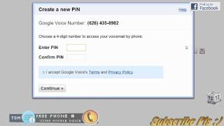 How to get a Free Telephone Number using Google Voice - Free Phone calls and SMS and Voicemail HD