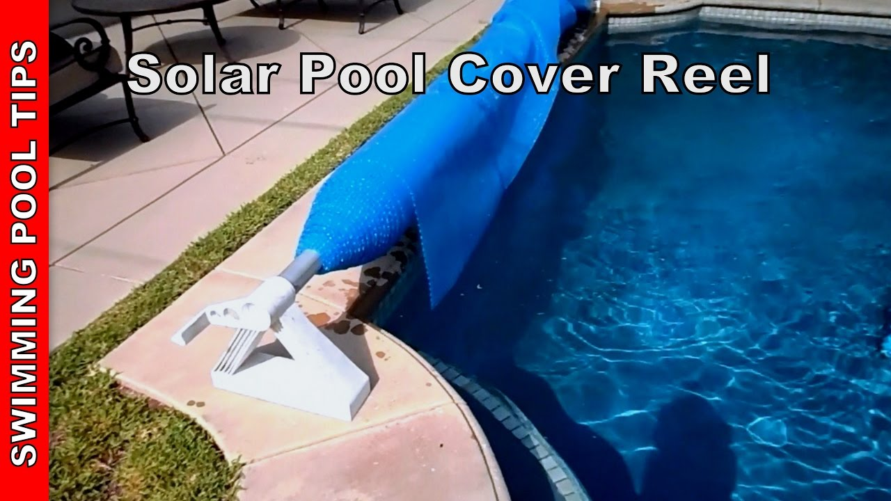 Solar Pool Cover With Reel Youtube