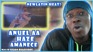 A Malikvision Anuel Aa Reaction To Anuel Aa Haze Amanece Official Audio