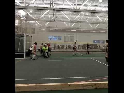 Brooke Richards Field Hockey goalie clip